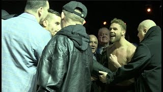 'P***Y BOY!' - *TEMPERS FLARE* - BILLY JOE SAUNDERS v DAVID LEMIEUX - OFFICIAL WEIGH-IN (LAVAL)