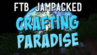 Crafting Paradise Hardcore Questing Mod Pack - FTB JamPacked Entry! [HQM]