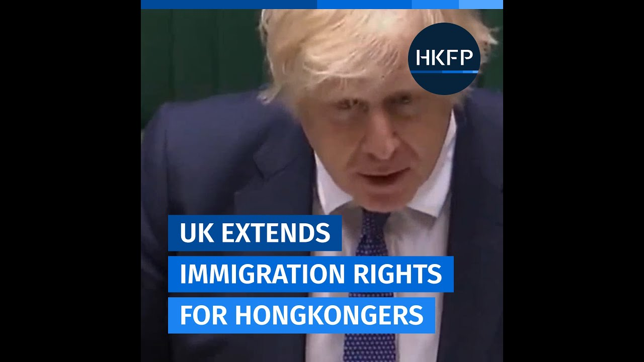 Security law: UK extends immigration rights for Hongkongers