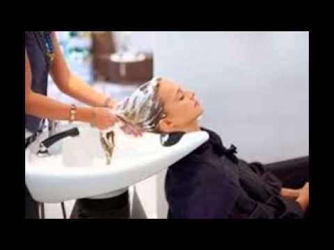 Shampoo hair salon youtube for Wash hair salon