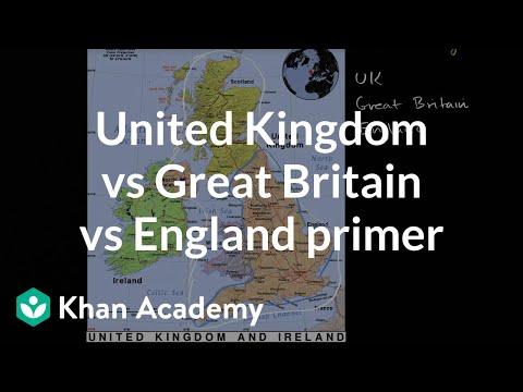 United Kingdom vs Great Britain vs England primer