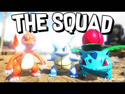 ARK Survival Evolved - THE WHOLE SQUAD!  - ARK Pokemon #8
