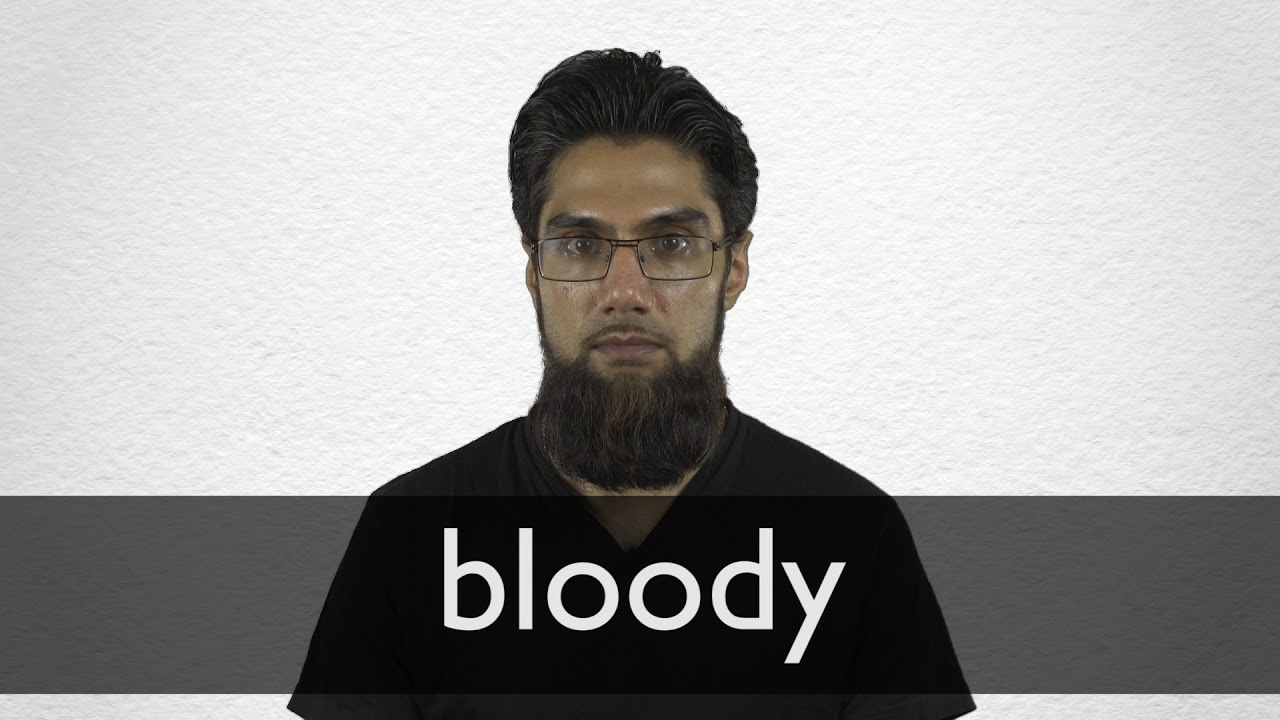 "Hindi Translation of ""bloody"" | Collins English-Hindi Dictionary"