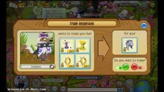 Animal Jam – Blue Headdress Trade Attempts