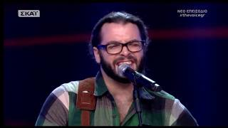 The Voice of Greece 4 - Blind Audition - TAKE IT EASY - Alex Hamel