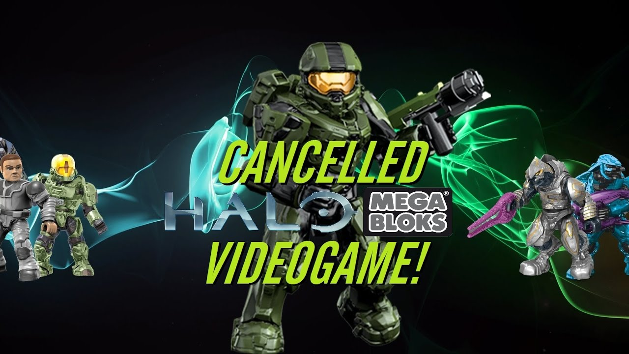 Cancelled Halo Mega Bloks Videogame! News Vlog