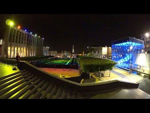 35 minutes | Jardin du Mont des Arts, Brussels by Night