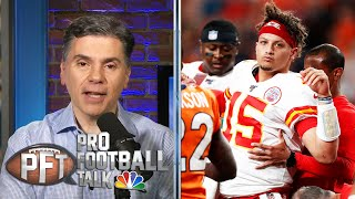 PFT OT: Patrick Mahomes' MVP chances, Sam Darnold is seeing ghosts | Pro Football Talk | NBC Sports