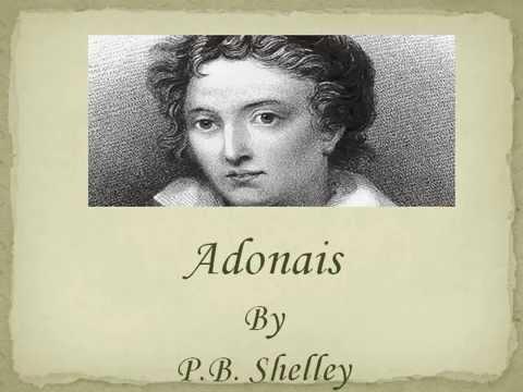 Adonais (extracts) - P.B. Shelley