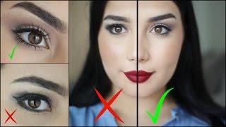 اخطاء مكياج العيون المبطنة    Maquillage Paupières Tombantes