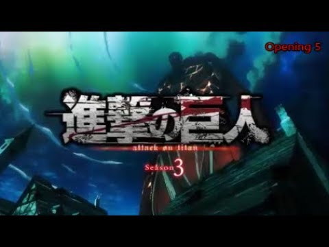 Attack On Titan All Openings [1-5]