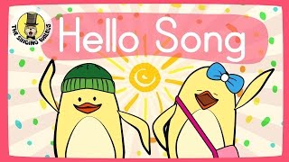 Video Hello Song for Kids | Greeting Song for Kids | The Singing Walrus download MP3, 3GP, MP4, WEBM, AVI, FLV November 2018