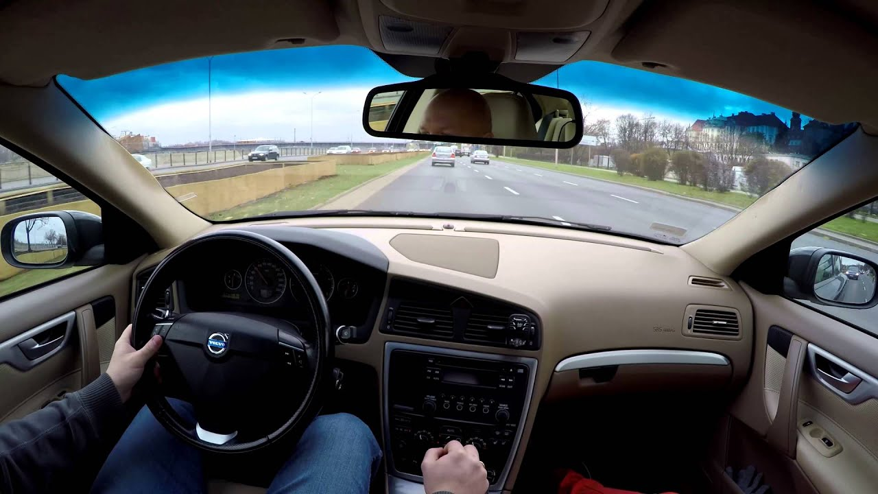 Driving Volvo S60 D5 2009 in 4K  50km Of Pure Driving 14112015r