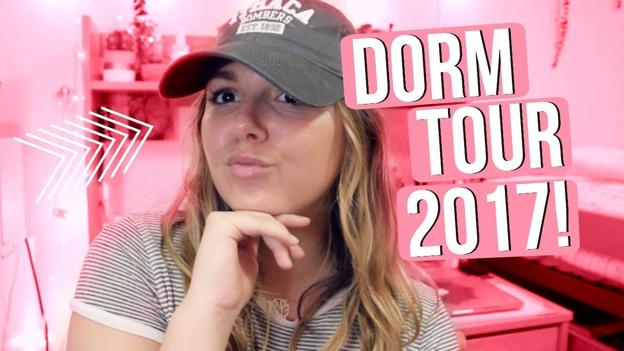 My Dorm Room Tour 2017