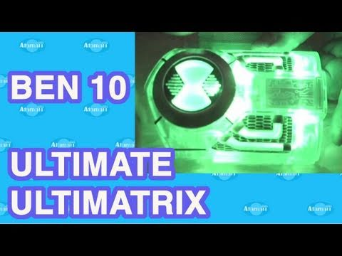 Ben 10 Ultimate Ultimatrix Toy Review Unboxing