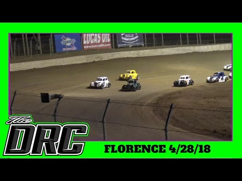 Florence Speedway | 4/28/18 | Ohio Valley Roofers Legends Car Series