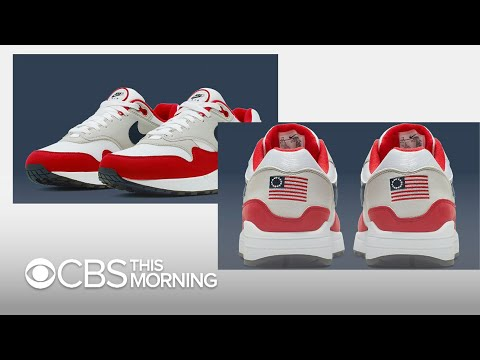 Nike Defends Decision To Pull Betsy Ross Flag Shoe