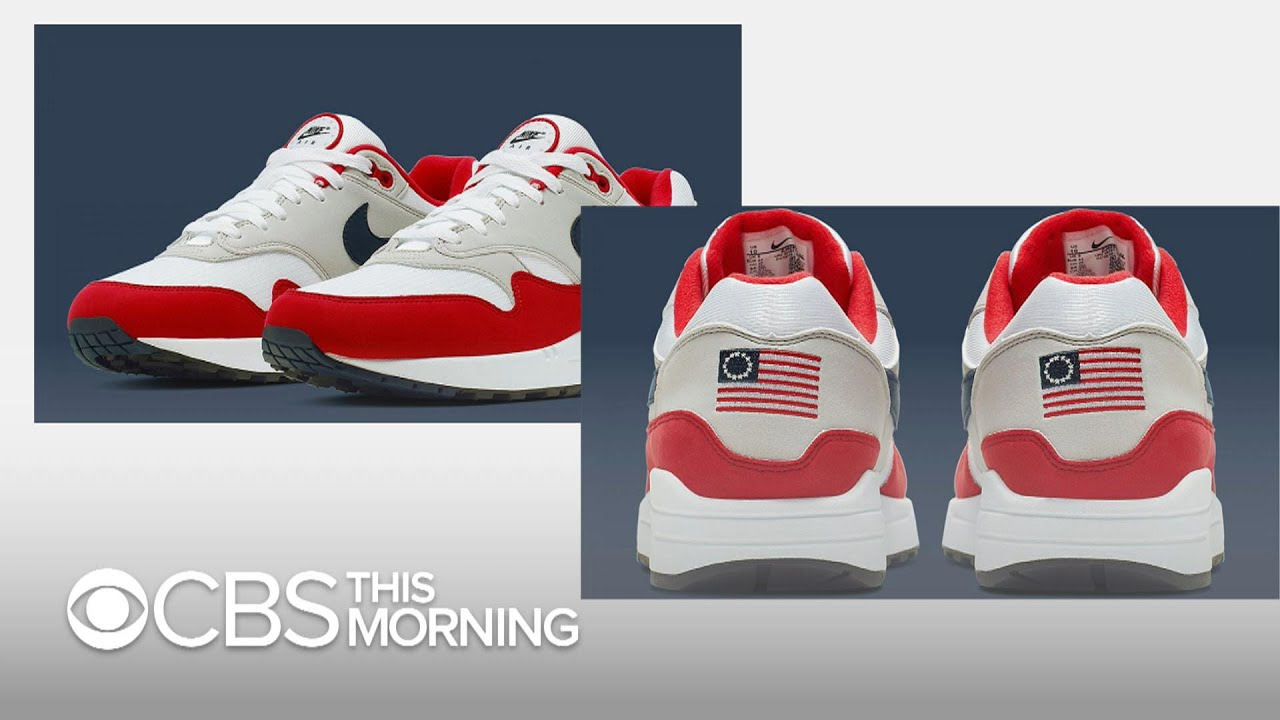 professional sale on feet at multiple colors Nike defends decision to pull Betsy Ross flag shoe