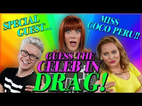 Top That! | Miss Coco Peru Plays Guess The Celeb In Drag! | Lightning Round