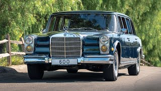 1969 Mercedes-Benz 600 Four-Door Pullman w100 - real limousine