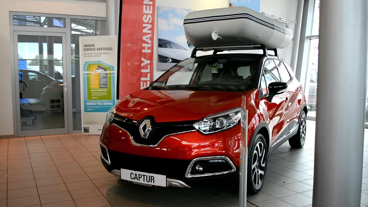 2015 New Renault Captur Exterieur and Interior - YouTube