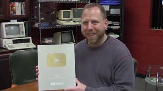 Silver Play Button Reveal