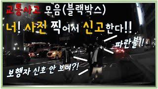 교통사고 블랙박스 영상 | 보행자 신호 안 보여?! 사…