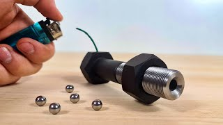 The SIMPLEST Powerful Mini CANNON f...