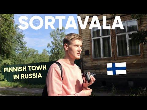 Vlog In Russian 21 – Сортавала: финское наследие в России