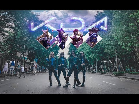 [ NOT KPOP IN PUBLIC ] K/DA - POP/STARS (Madison Beer, (G)I-DLE, Jaira Burns) Dance Cover @ FGDance