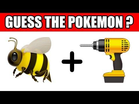 Can You Guess The Pokemon From Emoji?   Emoji Challenge   Emoji Puzzles