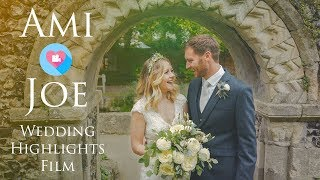 Ami & Joe - Wedding Highlights Film at Westgate Hall, Canterbury