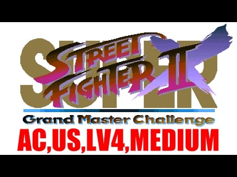 [1/4] 新春綜力戰 - SUPER STREET FIGHTER II Turbo(Arcade,US,LV4,MEDIUM)