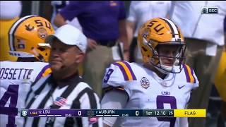Auburn Defense vs LSU Offense 2018