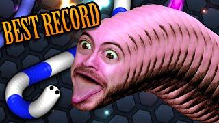 RECORD RUN - slither.io