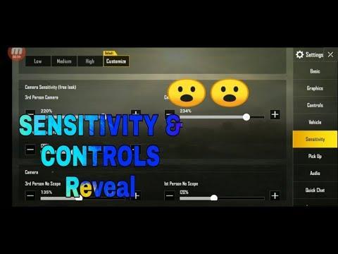 "SENSITIVITY & CONTROLS Reveal  """"BRAW | DarkOP"""""