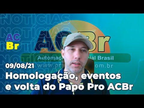 Homologação da WP-100, volta do Papo Pro ACBr, principais eventos da semana | Notícias do ACBr