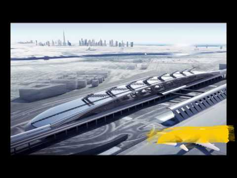 World Most Fastest HYPERLOOPE Train - 1200 km/h only in 1 hours.