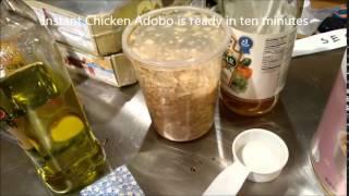 Ten Minute Chicken Adobo #thrivelife
