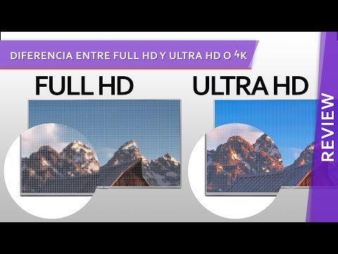 Diferencia entre Full HD y Ultra HD o 4K