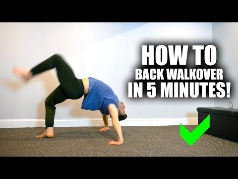 Learn Back Walkover In 5 Minutes