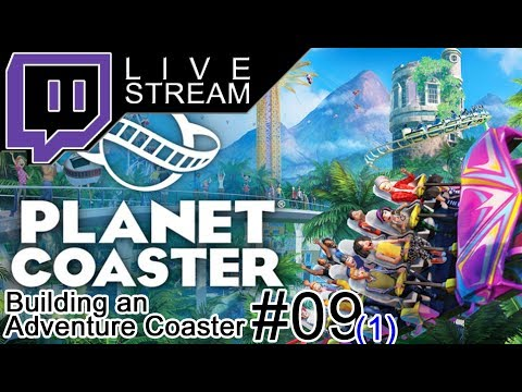 [LIVE] Planet Coaster - Weiterbau am Adventure Ride #09-1