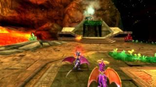 Spyro Dawn Of The Dragon: Ruins Of Warfang Gameplay