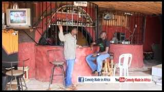 Advertiser faces it rough - african comedy