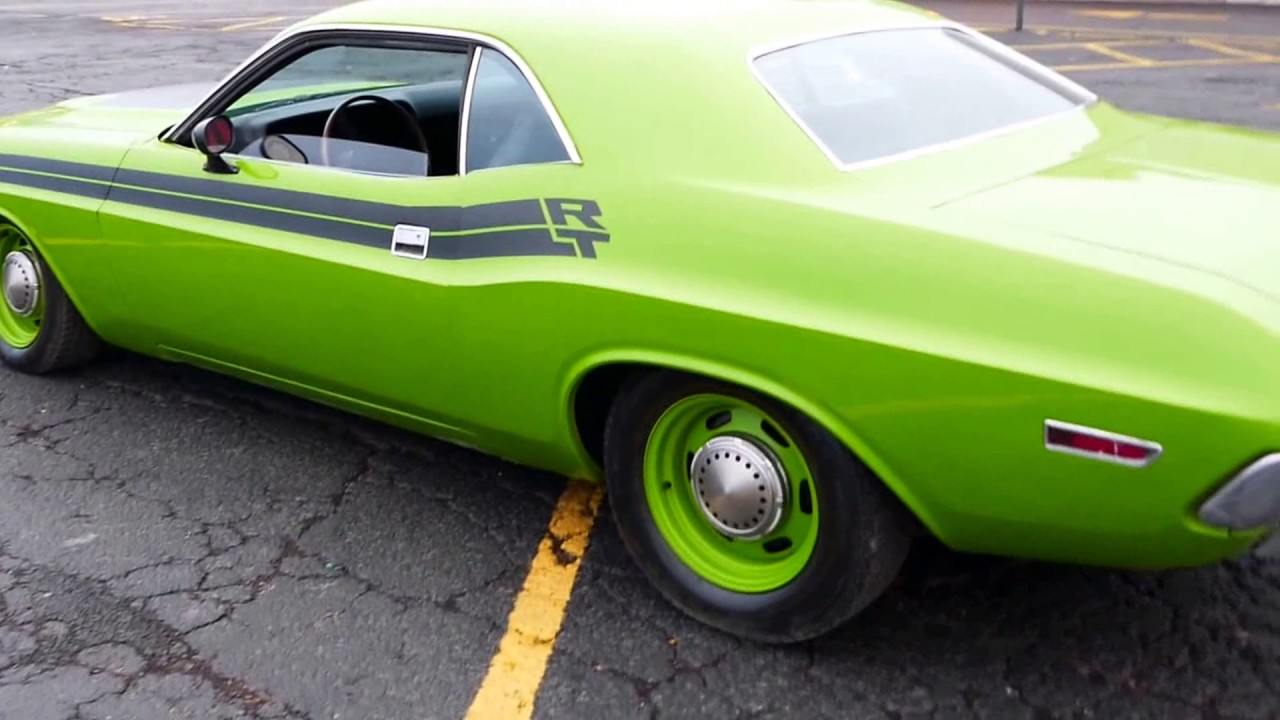 1971 Dodge Challenger -4 SPEED WITH 383 BIG BLOCK-CALIFORNIA CAR-RT ...