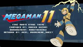 [Mega Man 11] (8-bit Style) Fuse Man's Stage Theme