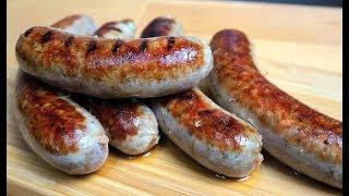 Вкусные домашние колбаски | Рецепт колбасок для гриля | Купаты