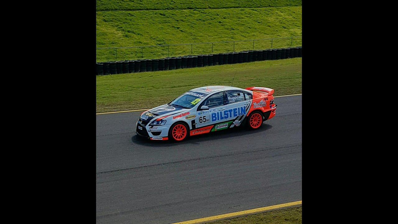 Josh Muggleton in Matthew Holt's Class A2 HSV E Series 2 GTS. I Qualified on the front row in the Driver B session and started next to Jacques Oosthuizen in ...