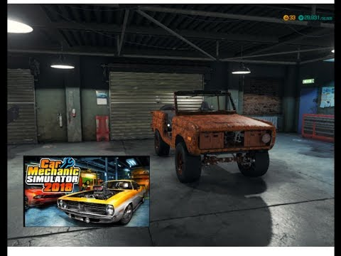 Live Stream Car Mechanic Simulator 2018 :   1975 Ford Bronco Rebuild Part 1 Of 2