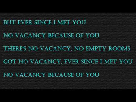 One Republic - No Vacancy (lyrics on Screen)